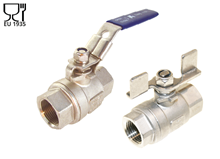 2-pcs. ball valve (Type 1101)