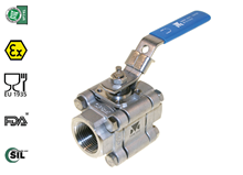 3-pcs. ball valve (Type  1310)
