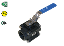 3-pcs. ball valve (Type 1210)