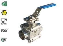 3-pcs. ball valve (Type 1311)
