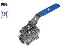 3-pcs. ball valve (Type  1313)