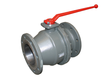 2-pcs. flange ball valve (Type 1432)