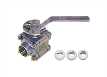 Manual control ball valve (Type 12/1311 - 12/1351 and E7289/49)