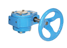 Gear box for butterfly valve (Type 5596)