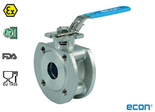 Wafer ball valve (Type E7383)
