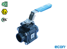 3-pcs. ball valve (Type 1251)
