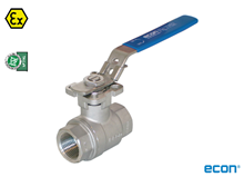2-pcs. ball valve (Type E7752 ISO)