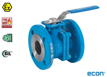 2-pcs flange ball valve (Fig. 7249)