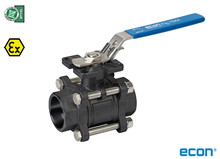 3-pcs. ball valve (Type E7424)