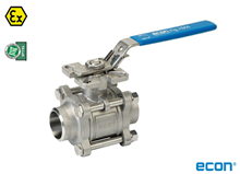 3-pcs. ball valve (Type  E7444)