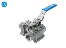 3-way ball valve (Type 1746)