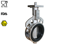 Stainless steel butterfly valve (Type 2294)